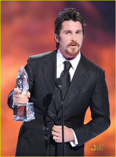 Christian Bale Peoples Choice Awards Machinist