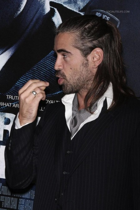 Colinfarrell Pride And Glory Premiere Photos Tape