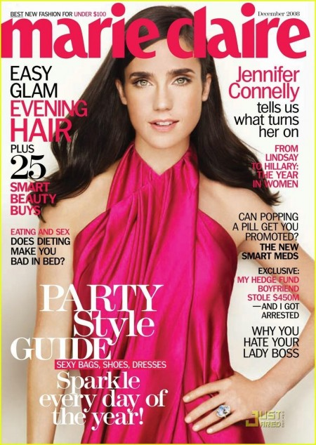 Jennifer Connelly Marie Claire December