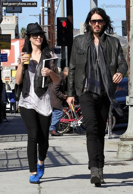 Katy Perry Russell Brand Shopping Photos Shopping