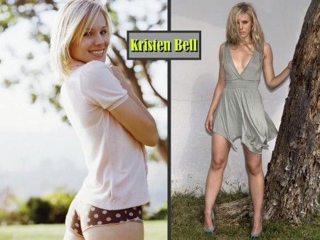 Kristen Bell Wallpaper Feet