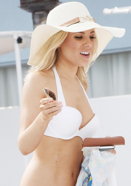 Mollie King Bikini Pool