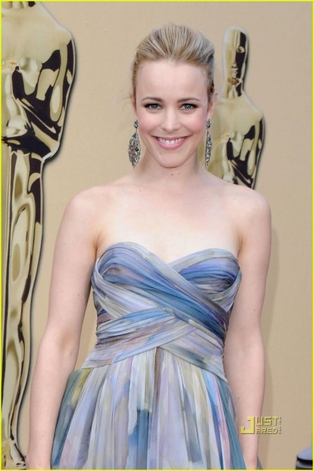 Rachel Mcadams Oscars Red Carpet Hair