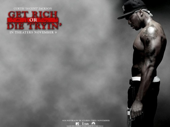 Cent In Get Rich Or Die Tryin Wallpaper Wallpaper