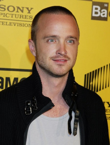 Af Men Hairstyle Actor Aaron Paul Star Of Amcs Drama Television Series Breaking Bad Arr