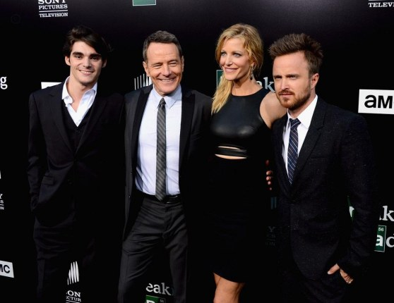 Anna Gunn Aaron Paul Amc Celebrates Final Naepa Eyv And Jessica Lowndes