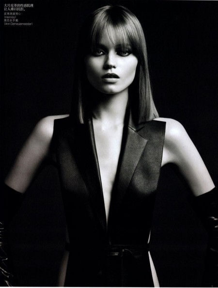 Abbey Lee Kershaw By Hedi Slimane For Vogue China August