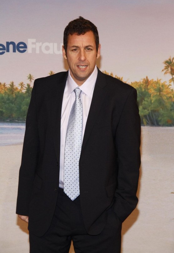 Adam Sandler Suit And Silver Funny