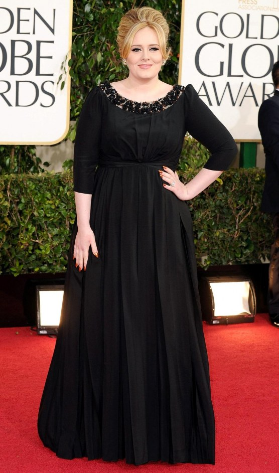 Adele At The Golden Globes Adele