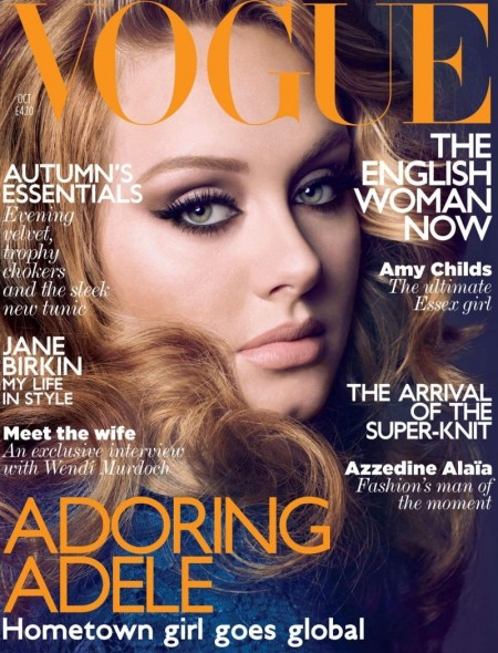 Adele Made Fat Jokes In Vogue Uk October Fat