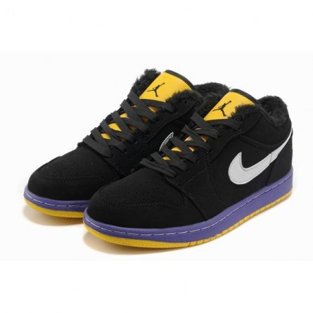 New Air Jordans Low Black Yellow Shoes Black And Yellow