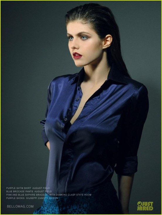Alexandra Daddario Covers Bello Magazine Radioactive