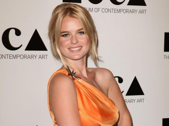 Alice Eve At Moca Gala