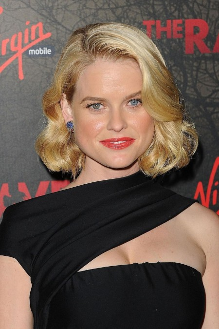 Alice Eve At The Raven Premiere In Los Angeles