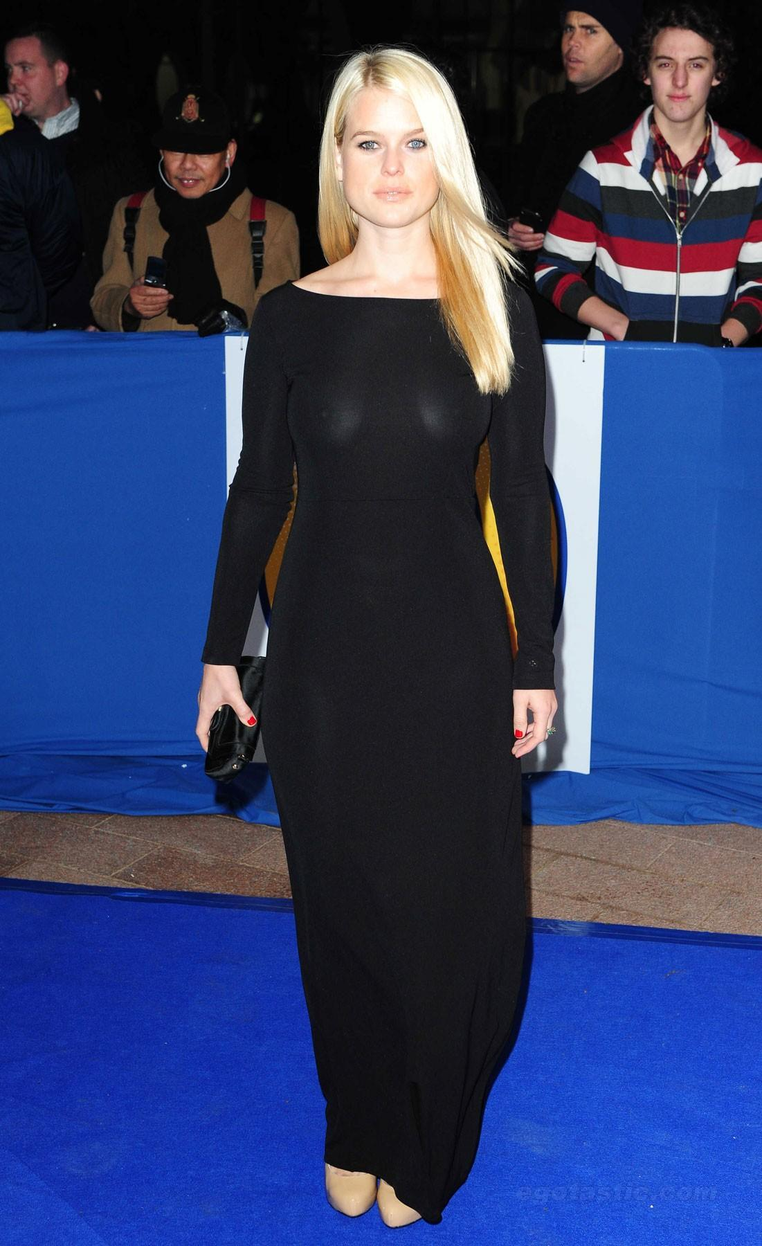 Alice Eve British Comedy Awards