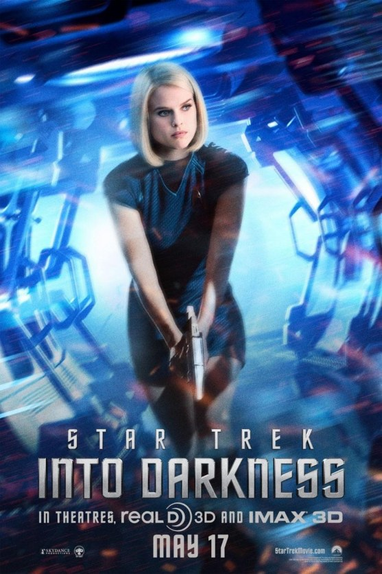 Alice Eve In Star Trek Into Darkness Movie Character Poster Star Trek