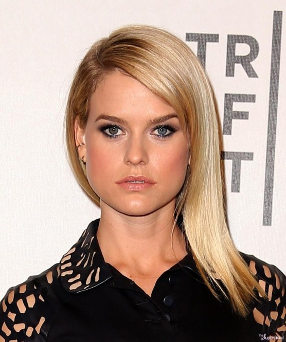 Alice Eve Some Velvet Morning Tribeca Film Festival Boyfriend