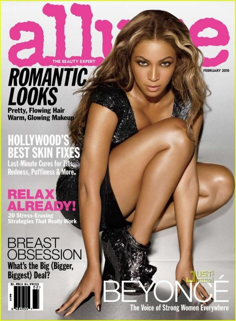 Beyonce Allure Magazine Cover