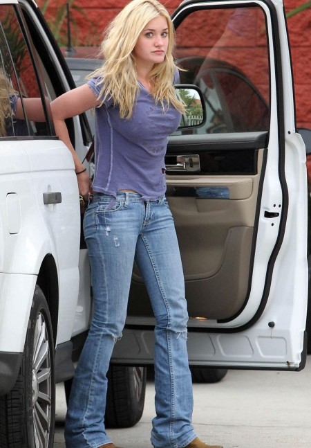 Aly Michalka Jeans
