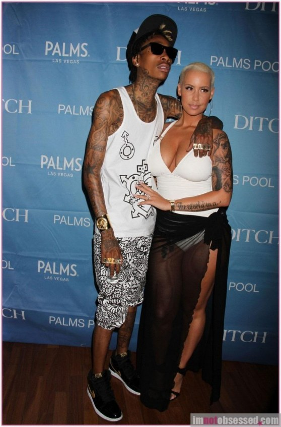 Amber Rose Wiz Khalifa Wedding