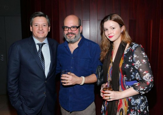 David Cross Amber Tamblyn And Ted Sarandos In House Of Cards Large Picture David Cross
