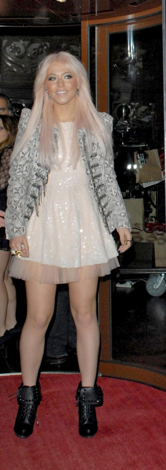 Amelia Lily At Instyle Anniversary Party In London Tattoo