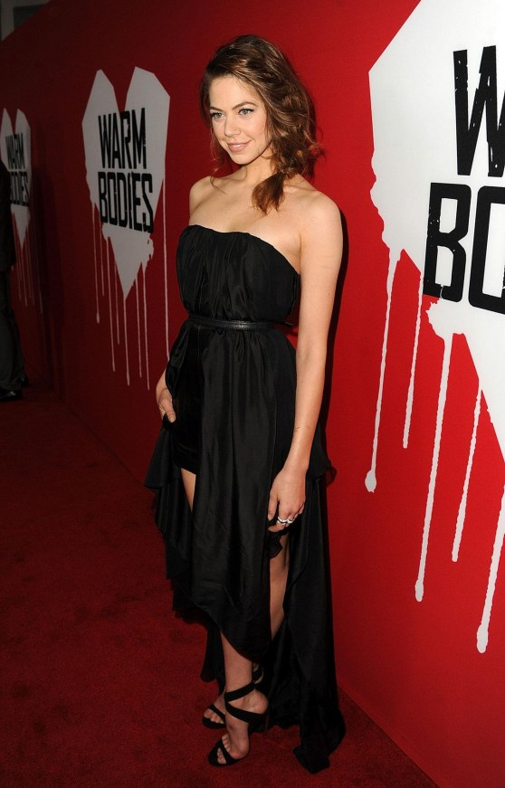 Analeigh Tipton At Warm Bodies Premiere In Hollywood Hot