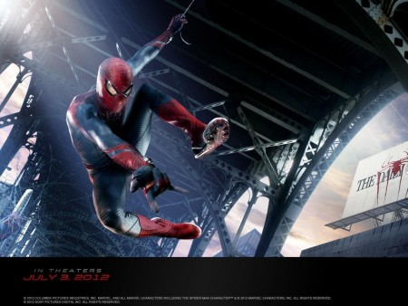 Andrew Garfield In The Amazing Spider Man Wallpaper The Amazing Spider Man