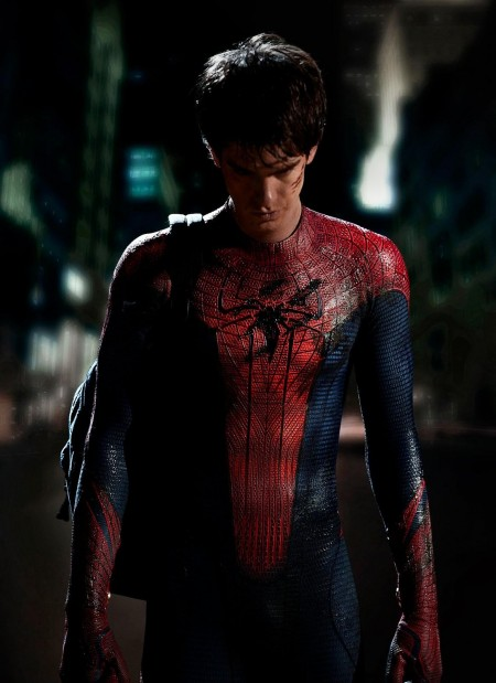 Andrew Garfield Spider Man Costume Social Network