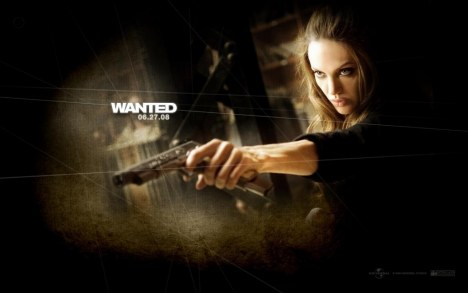 Angelina Jolie In Wanted Wallpaper Movies