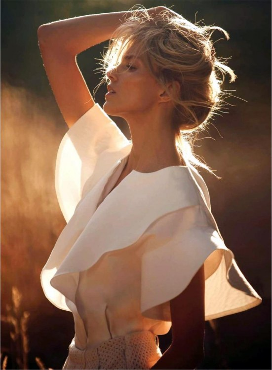 Anja Rubik Vogue Paris Vogue