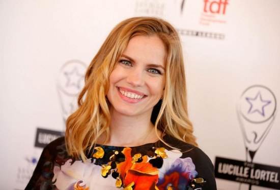 Anna Chlumsky At Th Annual Lucille Lortel Awards In New York