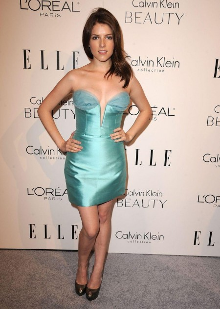 Anna Kendrick Cleavage Candids At Women In Hollywood Tribute