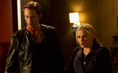 Alexander Skarsg Rd And Anna Paquin In True Blood Episode Save Yourself Alexander Skarsg Rd