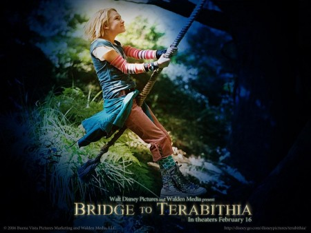 Annasophia Robb In Bridge To Terabithia Wallpaper Wallpaper