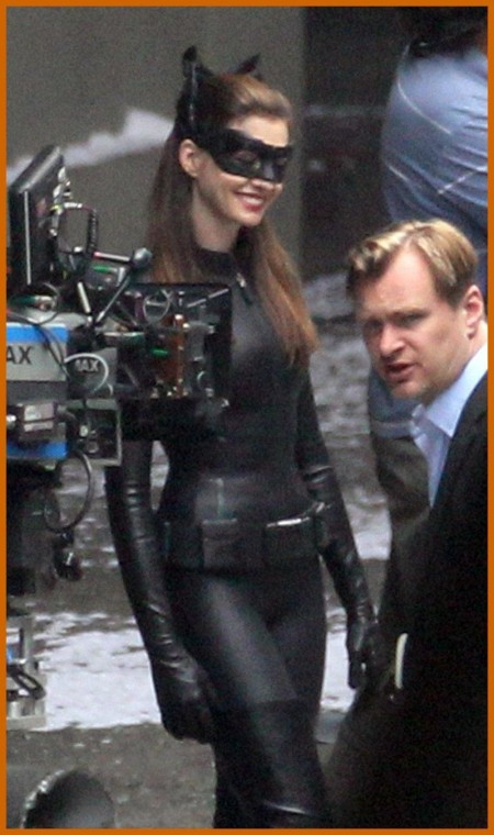 Anne Hathaway Catwoman Costume Dark Knight Rises Set Catwomen