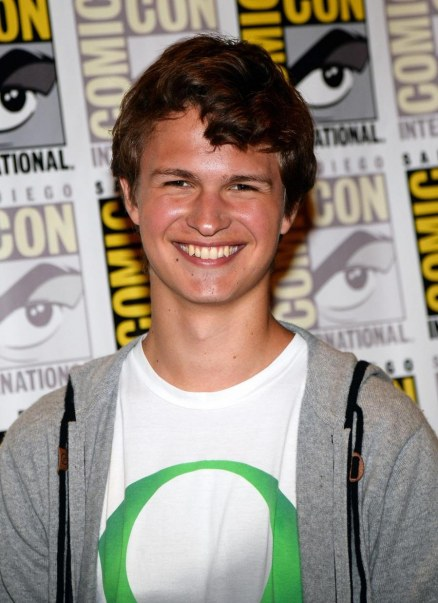 Ansel Elgort At Event Of Divergent Large Picture
