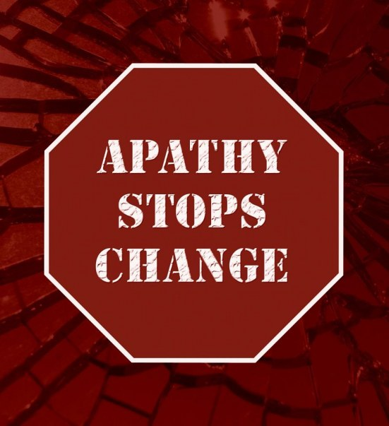 Apathy Reduced Apathetic
