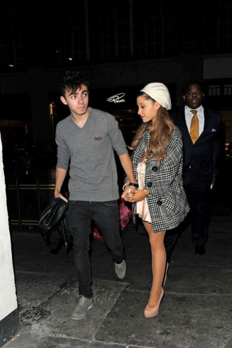 Ariana Grande Having Dinner At Sushi Samba In London London