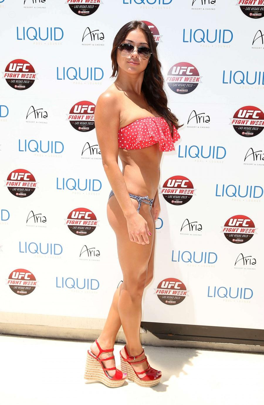 Arianny Celeste In Bikini At Ufc Fight Week