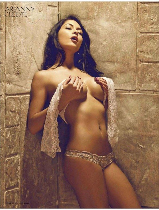 Arianny Celeste In Fhm Magzine Philippines May Issue