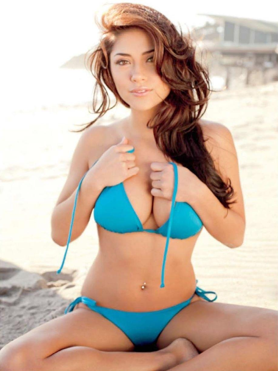 Arianny Celeste In Reversible Triangle Bikini All People Photo