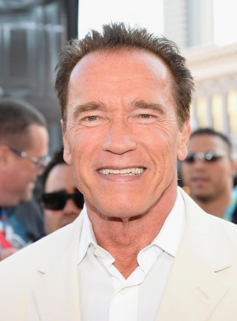 Arnold Schwarzenegger At Event Of Escape Plan