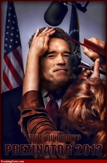 Arnold Schwarzenegger Hair And Makeup For Interview