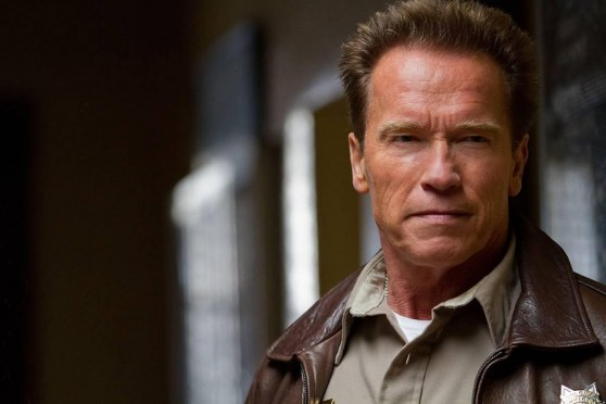 Arnold Schwarzenegger In The Last Stand Action Movie Wall