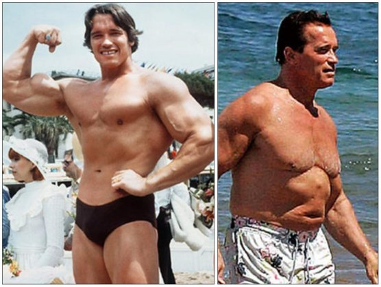 Body Builder Arnold Schwarzenegger Then Now Hot