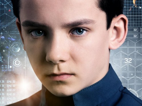 Enders Game Poster Banner Asa Butterfield Ender Game