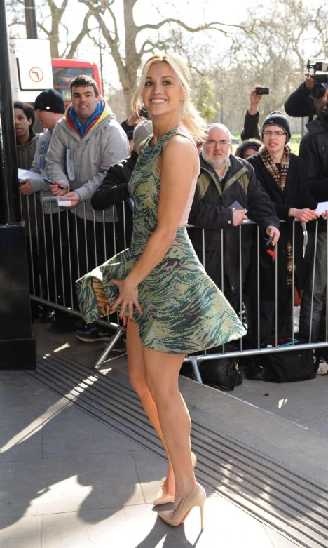 Ashley Roberts Tric Awards In London