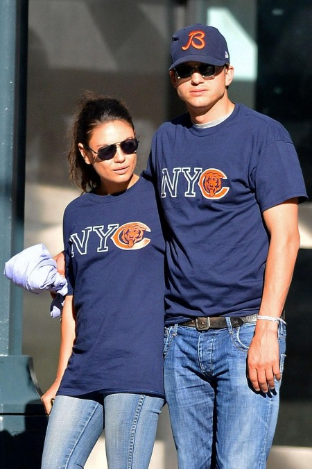 Ashton Kutcher Mila Kunis Dates Body