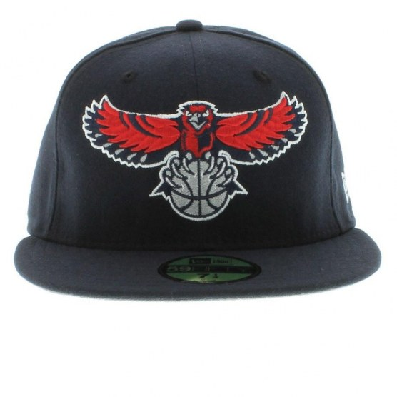 Atlanta Hawks Team Colors The Playoffs Fitted Fifty New Era Cap Snapback
